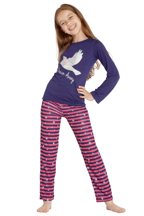 INTIMO Chloe and Olivia Kids Dream Away Pajamas