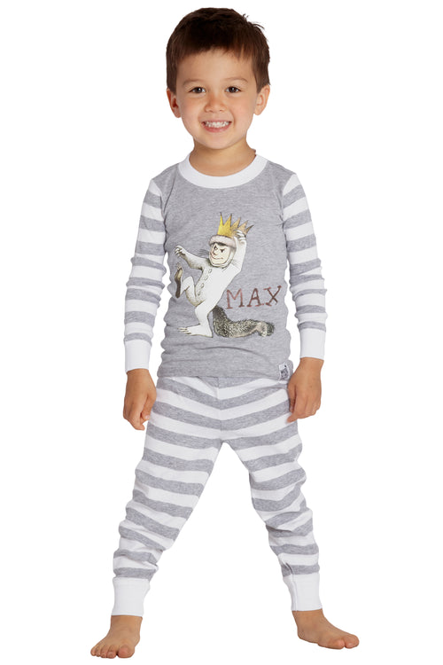 Where The Wild Things Are Boys Toddler Max Cotton Pajama Set