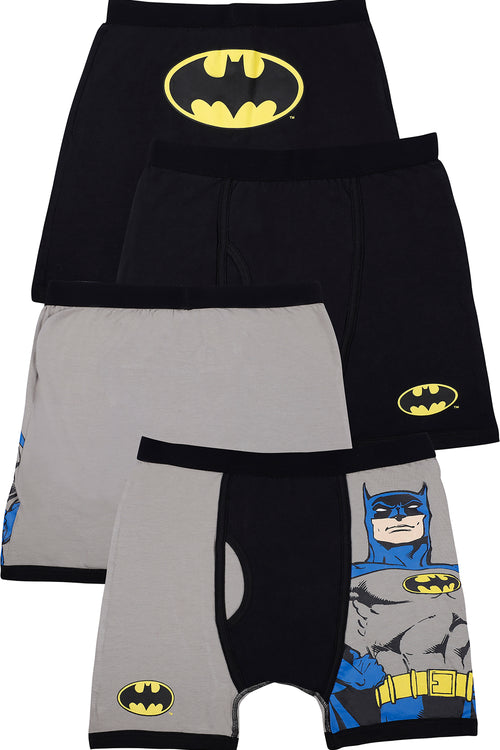 DC Comics Boys 'Batman Superhero Justice League' Boxer Brief Underwear Pack