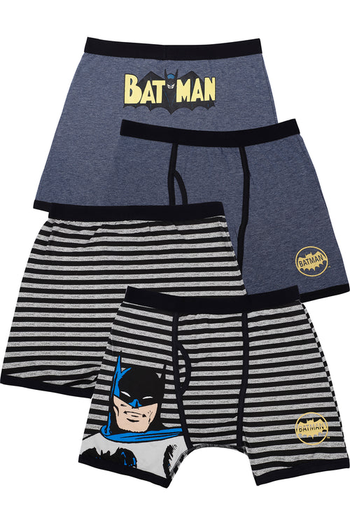 DC Comics Boys 'Batman Justice League Vintage' Boxer Brief Underwear Pack
