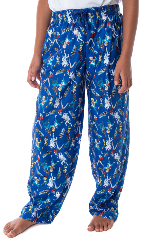 Beyblade Burst Rise Boys' Spinner Tops Allover Character Kids Sleepwear Lounge Pajama Pants