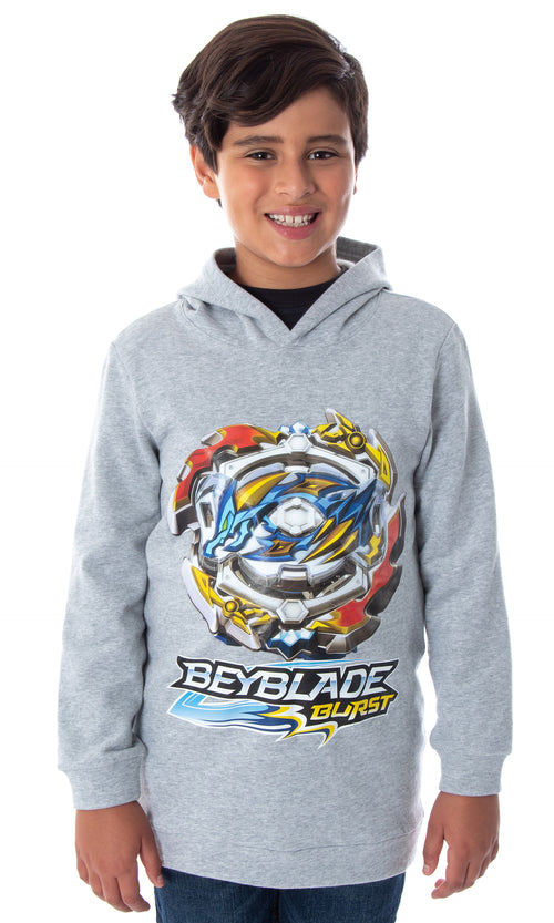 Beyblade Burst Boys' Ace Dragon Spinner Top Pullover Hooded Sweatshirt Hoodie