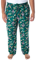 A Christmas Story Men's Movie Inspired Allover Print Design Lounge Sleep Pajama Pants