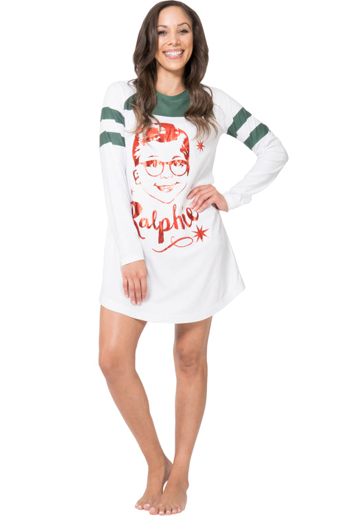 Christmas Story Womens Ralphie Nightgown