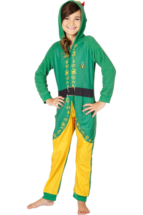 INTIMO Elf The Movie Buddy The Elf One Piece Costume Pajama Set