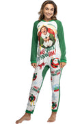 Elf The Movie Women's OMG Santa! I Know Him! One-Piece Sleeper Pajama Union Suit