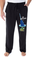 Elf The Movie Men's Mr. Narwhal And Buddy The Elf Logo Loungewear Sleep Bottoms Pajama Pants