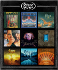 "Styx Blanket Album Collection Rock and Roll Music Band Super Soft Fleece Throw Blanket 48"" x 60"" (122cm x152cm)"