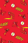 DC Comics Men's Classic The Flash Comic Allover Print  Loungewear Pajama Pants