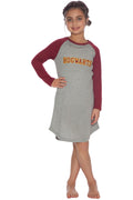 Harry Potter L/S Hogwarts Raglan Gown