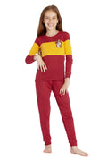 Harry Potter Big Kids' Quidditch House Crest Cotton Pajama Set