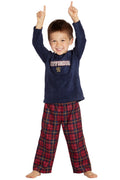 Harry Potter Gryffindor Lion Christmas Plush Holiday Toddler Plaid Pajama Set