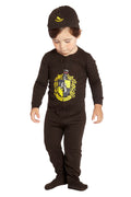 Intimo Baby Pajamas Set Footed Jammies Beanie Hogwarts House Gryffindor 12 Month