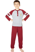 Harry Potter Boys Gryffindor House Athletic Varsity Jogger Pajama Set