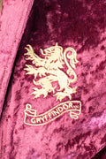Harry Potter Juniors' Hooded Crushed Velvet Robe - All 4 Houses Gryffindor, Hufflepuff, Ravenclaw, Slytherin