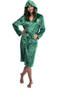 Harry Potter Womens Velvet Robe Hogwarts Houses