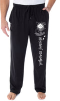 Harry Potter Men's Marauder's Map Mischief Managed Loungewear Sleep Bottoms Pajama Pants