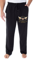 Harry Potter Adult Mens' Quidditch Golden Snitch Ball Pajama Lounge Pants