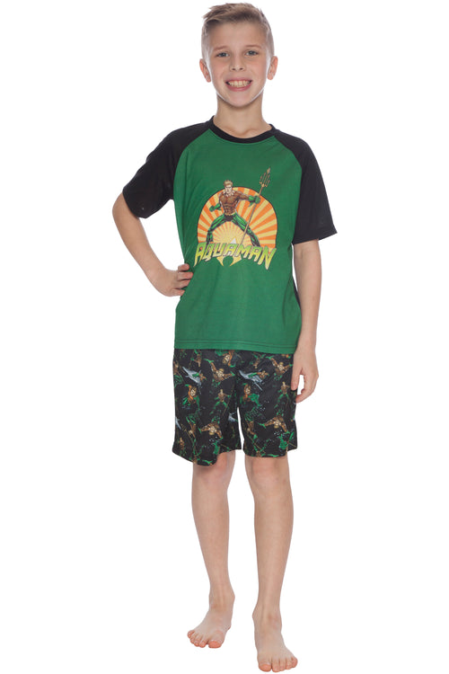 INTIMO Aquaman Justice League Pajama Short Set