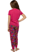 LOL Surprise! Girls Glam 10 Jogger Pants And Shirt Sleepwear 2 Piece Pajama Set