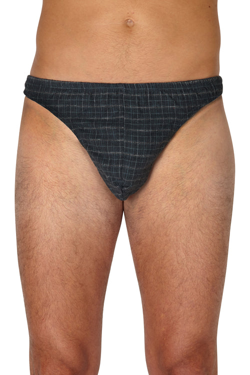 INTIMO Mens Flannel Thong