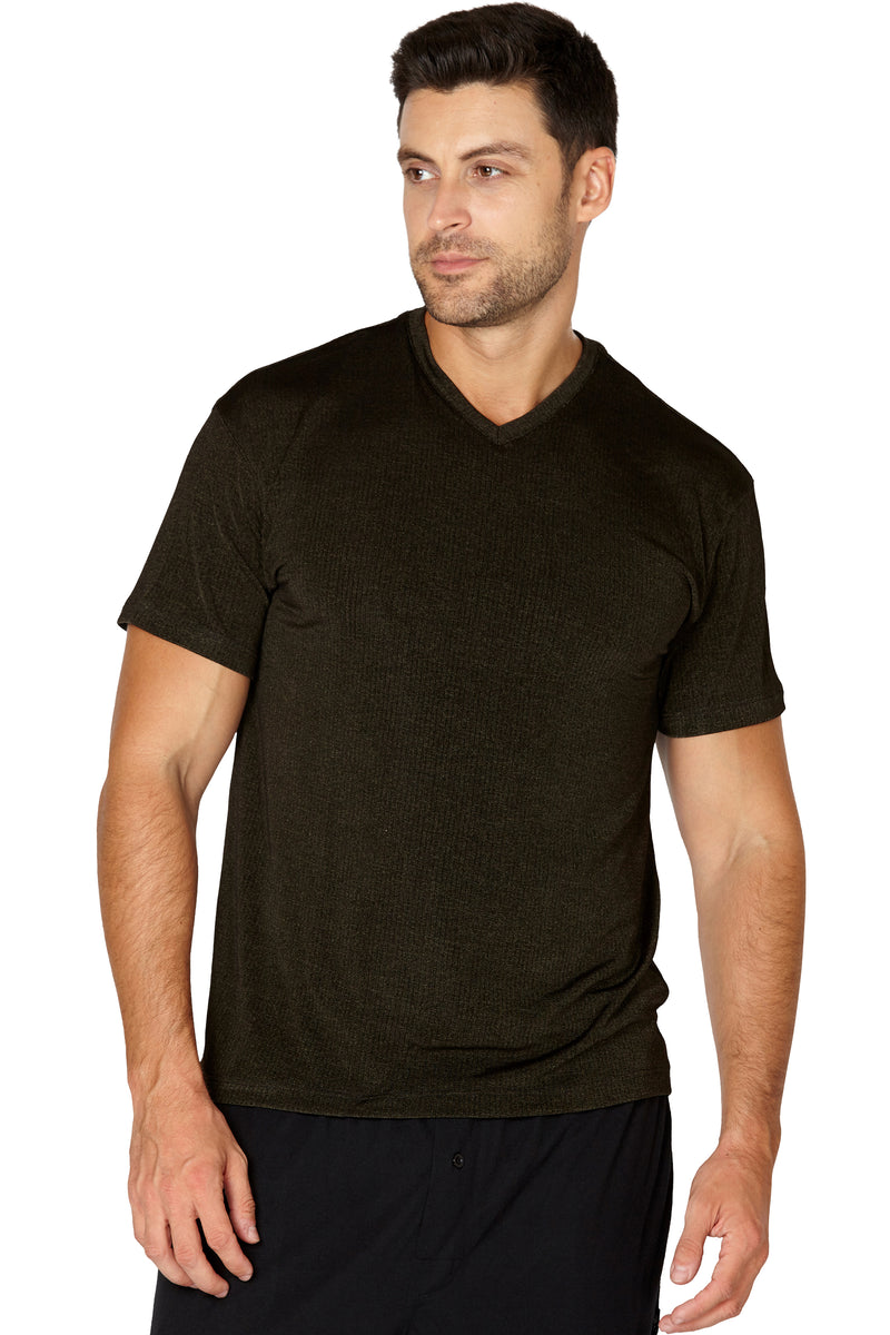 INTIMO Mens Quick Dry Drop Needle T Shirt