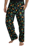 Marvel Mens' The Incredible Hulk All Over Print Lounge Pajama Pants Sleepwear