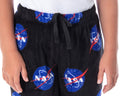NASA Boys' Meatball Logo Allover Print Ultra-Soft Plush Fleece Lounge Sleep Pajama Pants
