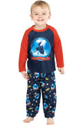 The Polar Express Train Toddler Kids Raglan Pajama Set