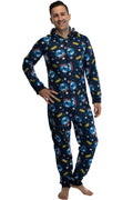 Polar Express Adult Believe Hooded One-Piece Footless Sleeper Union Suit For Men and Women