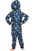 Polar Express Toddler Kids Believe Hooded One-Piece Footless Sleeper Union Suit