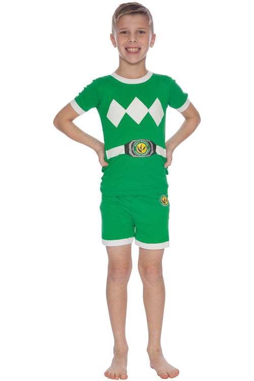 Power Rangers Kids Character Cotton Short Set Pajamas