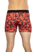 Mens Red Gel Hearts Boxer Briefs RED Underwear