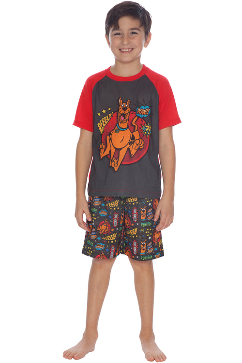 Scooby Doo Movies Boys Pajamas 2pc Sleep Set