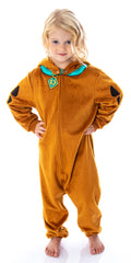 Scooby Doo Toddler Kids I Am Scooby One-Piece Costume Pajama Sleeper Union Suit