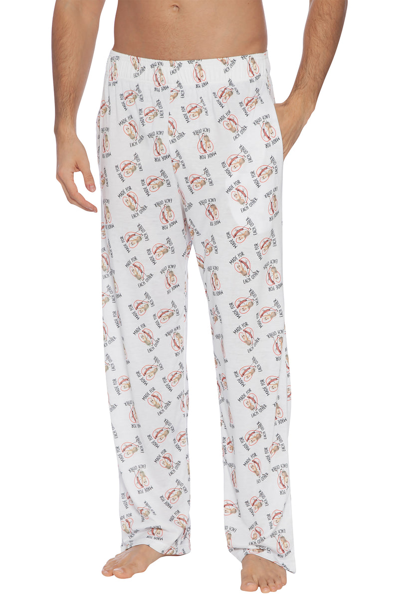 Intimo Sausage Party Made for Each Other Lounge Pant for Men