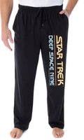 Star Trek Men's Deep Space Nine Logo Adult Sleepwear Lounge Pajama Pants