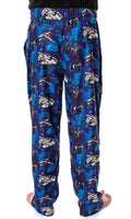 Star Wars Men's Millennium Falcon X-Wing Tie Fighter Allover Pattern Adult Sleep Lounge Pajama Pants