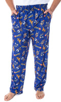 ThunderCats Men's Lion-O Cheetara Panthro Tygra Classic Cartoon Character Adult Sleep Lounge Pajama Pants
