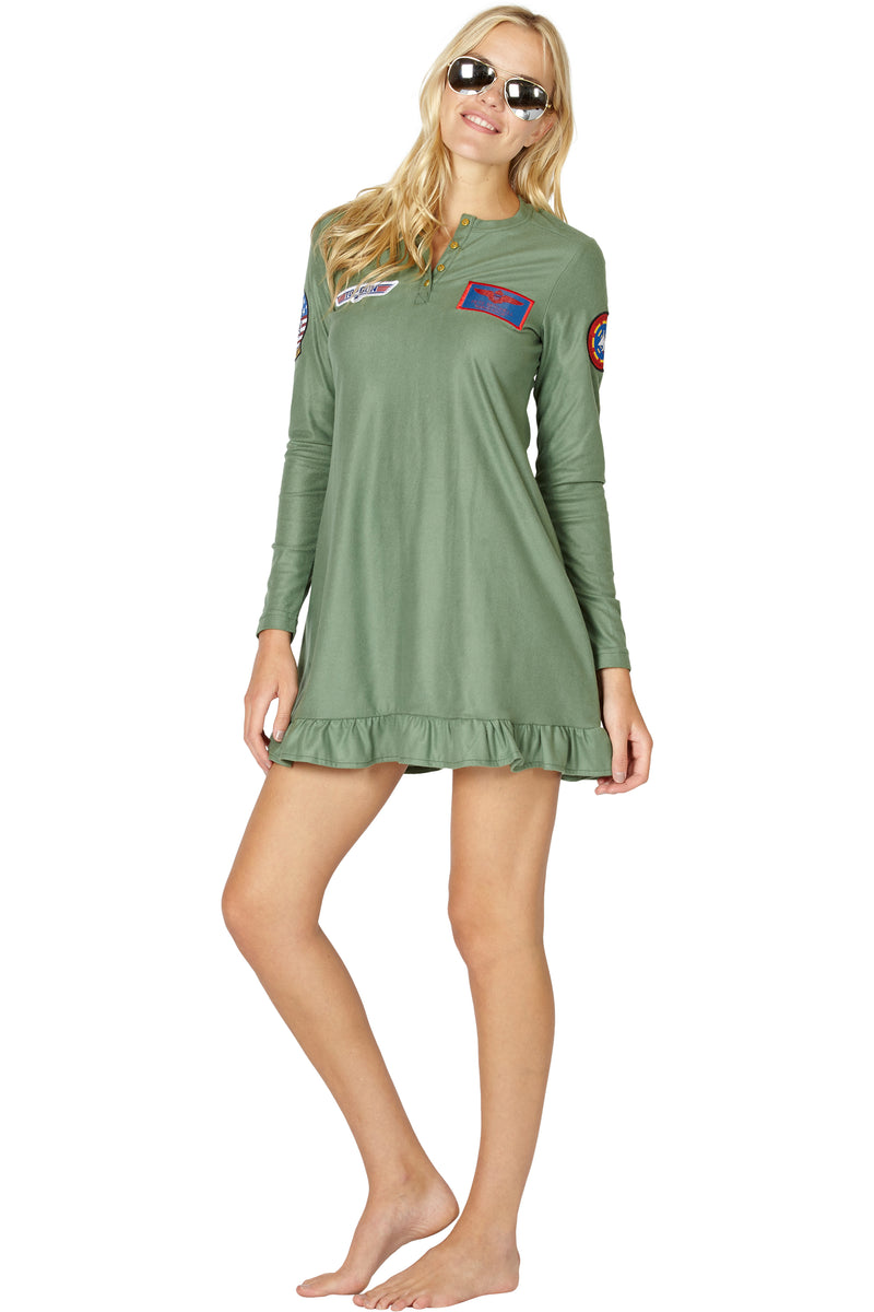 Top Gun Maverick Costume Pajama Nightgown