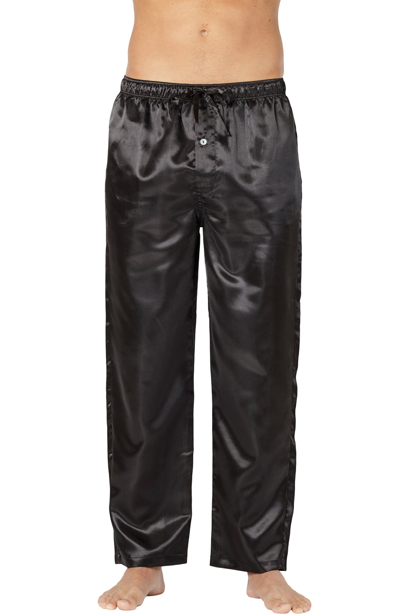 Intimo Mens Classic Satin Pajama Sleep Pants