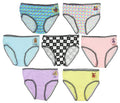 Five Nights at Freddys Little Girls 7 Pack Brief Style Panties
