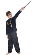 HARRY POTTER Mrs. Weasley H Holiday Christmas Sweater Fleece Flannel Pant Pajama 2pc Gift Set