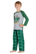 Harry Potter Pajamas Little And Big Boys' Raglan Shirt And Pants Sleepwear Set- (Gryffindor, Large, 10/12)