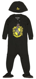 Intimo Harry Potter Baby Pajamas Set Footed Jammies with Beanie Hogwarts House Gryffindor