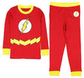 DC Comics Flash Little Boys 2 Piece Shirt & Pants Pajama Set (10)