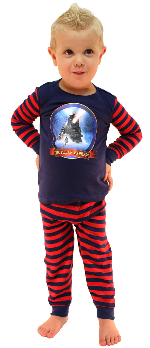 The Polar Express Train Baby Pajamas Toddler Kids Pajama Set