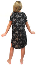 Intimo Big Girls' Harry Potter I Solemnly Swear Shoulder Cut Out Nightgown (Large 10/12)