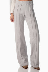 Test Easy-on Pants <br>Arctic Grey | Winter White Stripes