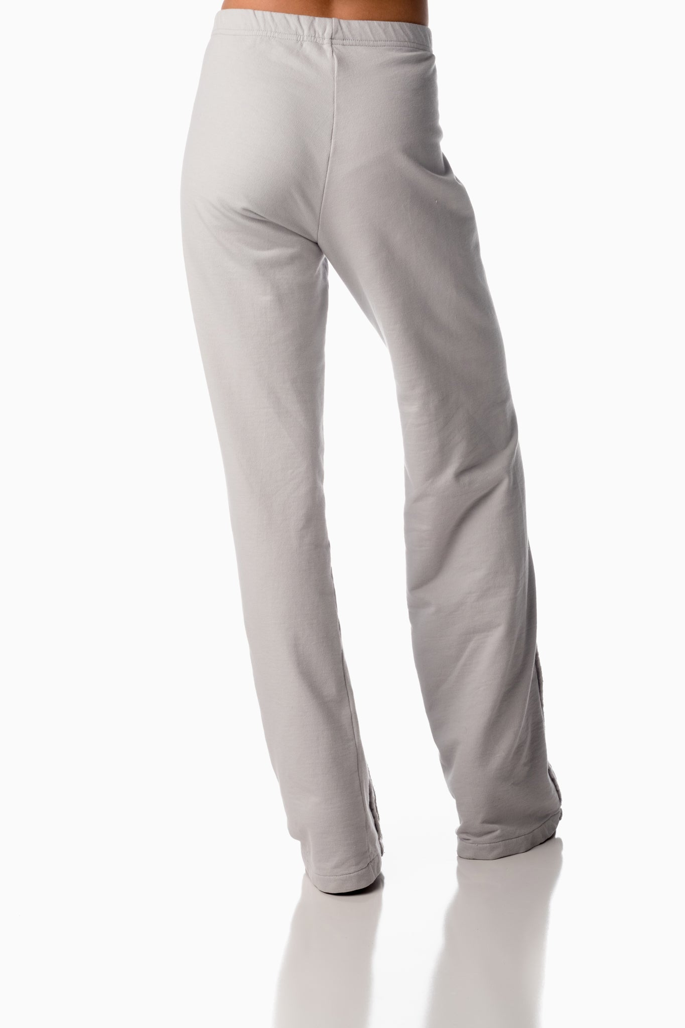Easy-on Pants <br>Arctic Grey | Winter White Stripes